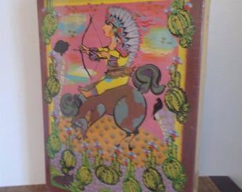 "1979 Bjorn Wiinblad ""Vest"" 500 Piece Jigsaw Puzzle in Original Shrinkwrap"