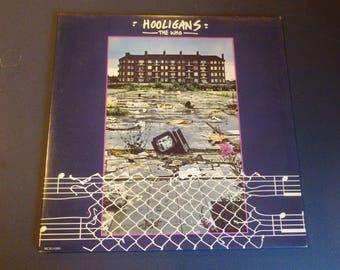 The Who Hooligans Vinyl Record LP MCA2-12001 Double Album MCA Records 1979
