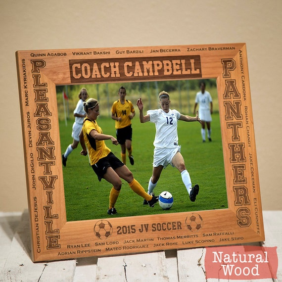Personalized Sports Frames-Player Name Teammates &