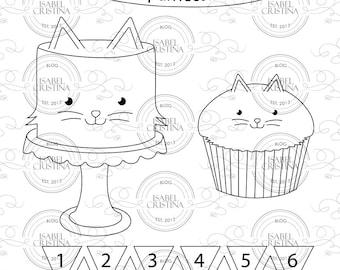 Kat cake - Isabel Cristina