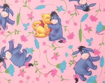 Pink Eeyore Blanket** hand stitched **1.00 shipping**