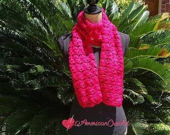 Bungalow Scarf Crochet Pattern