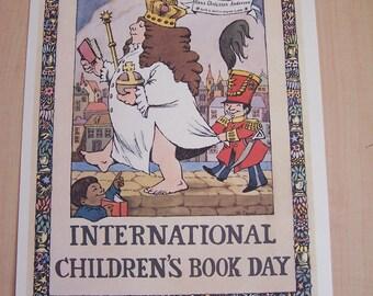 Maurice Sendak Print International Childrens Book Day
