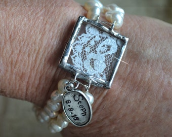 Custom Hand Soldered Photo Charm (optional chain), Personalized Custom Photo Charms, Family Photo Gift, Family Keepsake Charms, Mother's Day