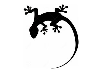 Pack of 3 Lizard Stencils Made from 4 Ply Mat Board, 11x14, 8x10 and 5x7 -Package includes One of Each Size