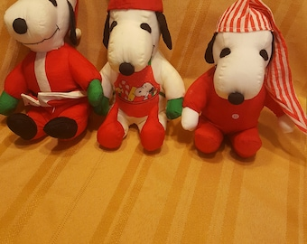 Snoopy Holiday Plush Collection