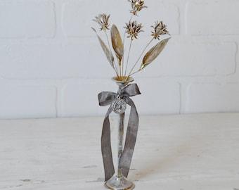 Brass Flower Bouquet, Brass Flowers, Brass Bouquet, Vintage Flowers, Vintage Bouquet, French Flowers, French Bouquet, Brass Wildflowers