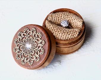 Proposal ring box - engagement ring box - ring box