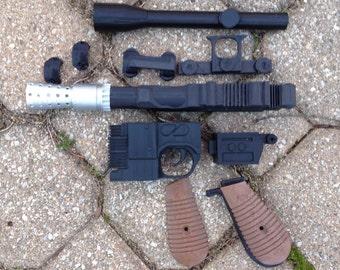 Han Solo Star Wars Blaster Gun Kit DIY DL-44