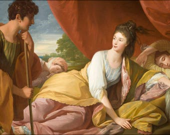Poster, Many Sizes Available; Benjamin West - Cymon And Iphigenia