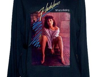 Flashdance Jennifer Beals 80S Retro Jumper