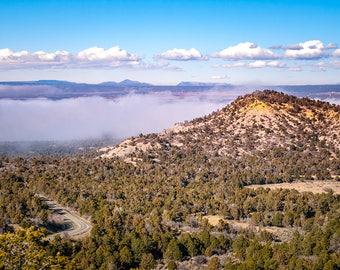 Southwest Art Print, Landscape Photo, Mesa Verde, Colorado Nature Photography, National Parks, Forest Photography, High Desert
