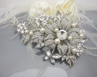 Bridal hair comb pearl wedding comb wedding hair comb bridal headpiece bridal hair accessory wedding hair jewelry bridal haircomb wedding