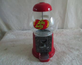 Gumball Machine Jelly Belly Coin Operated