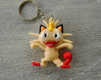 Pokemon keychains: meowth