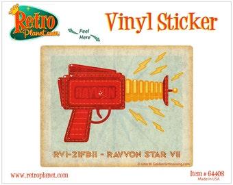 Rayvon Star VII Toy Gun Lunastrella Vinyl Sticker - #64408