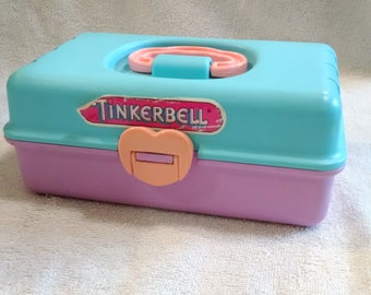 Redbox Tinkerbell Pink and Blue Storage Case