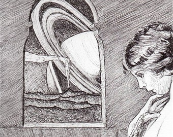 Muse. Original Drawing.