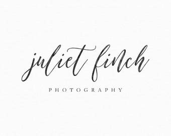 Premade Calligraphy Logo - Photography Logo and Watermark Design - Business Watermark Logo - Calligraphy Logo - 240