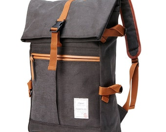 20% off - Tidy Urban cotton Backpack (Charcoal Gray) 75.9->60.7usd