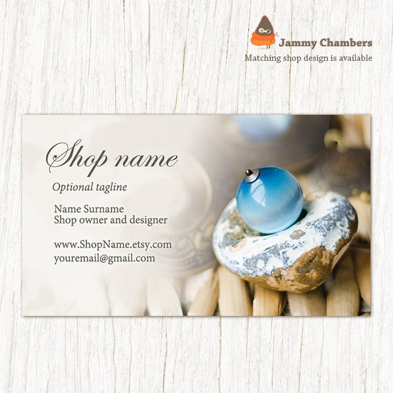 Business card template jewelry calling card business card cheaphphosting Choice Image