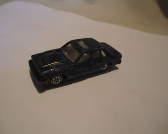 Vintage Blue Die Cast Toy Car, Made In China, collectable