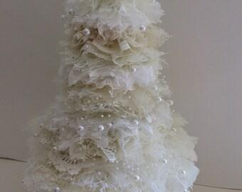 Shabby Chic Lace Tree