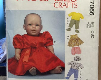 McCall's pattern for doll clothes