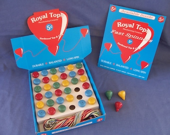 Counter Top Store Display -  Spinning Tops - NOS