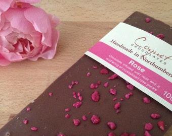 Rose Chocolate Bar