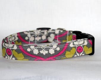 S/M/L - Adjustable Fabric Dog Collar