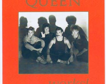 Queen Tour Program & Badges