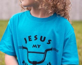Jesus My Ride or Die Toddler Shirt