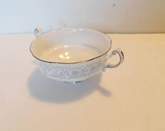 Paragon Melanie footed cream soup bowl near mint condition
