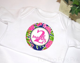Milestone Baby Stickers | Belly Babe™ | Beach Babe | 1st Year | Bonus Just Born Set included | FREE SHIPPING