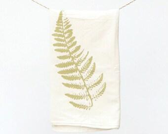 Fern Towel : Flour Sack Kitchen Tea Towel for the Home