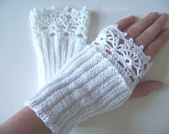 ROXY, Knit & crochet glove pattern pdf