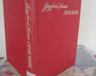 The Gayelord Hauser Cookbook 1946 Healthy Eating Vintage Cookbook