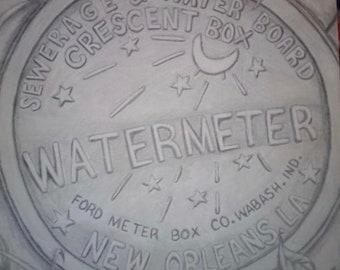 New Orleans Water Meter