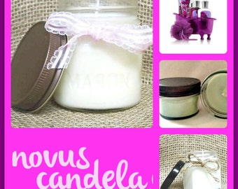 dark kisses candle, Mother's day gifts for women, soy candles handmade,  gift for her, mason jar candles, gifts for girls  for mom