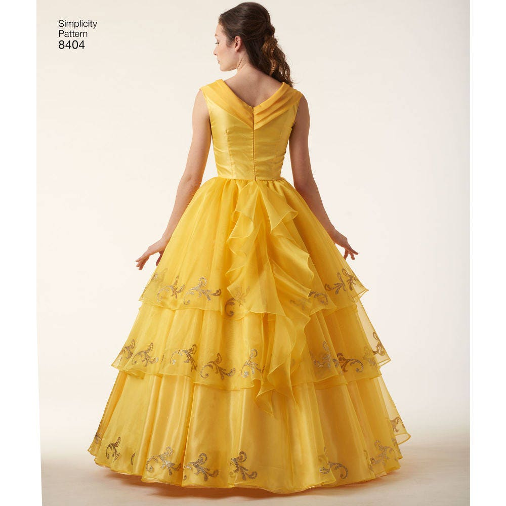 8404, Simplicity, Belle, Beauty and the Beast, Ball Gown, Disney ...