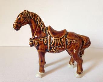 Tang Horse, Horse Ornament, Ceramic Horse Figurine, Horse Figurine, Ceramic Horse, Pottery Horse, Horse Gift, Horse Art, Animal Figurine