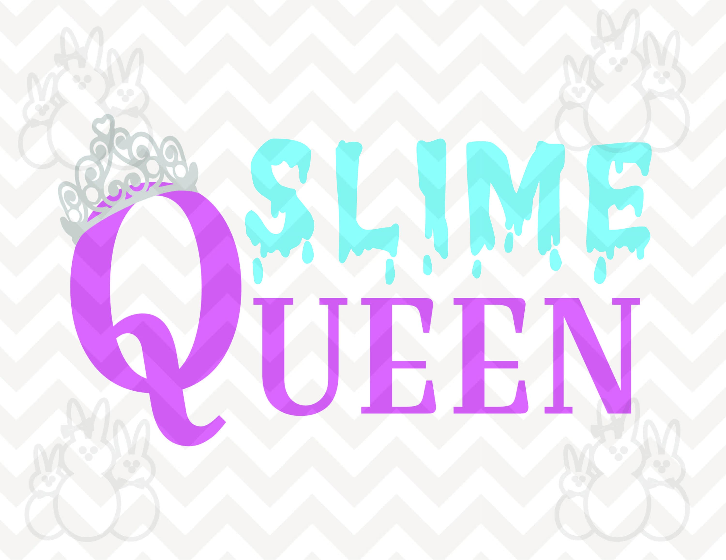 Svg slime queen files included svg cuttable png eps dxf zoom ccuart Gallery