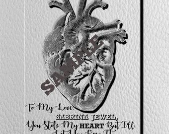 Custom Made Heart For Sabrina Jewel