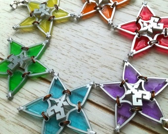Kingdom hearts wayfinder necklace, friendship necklace
