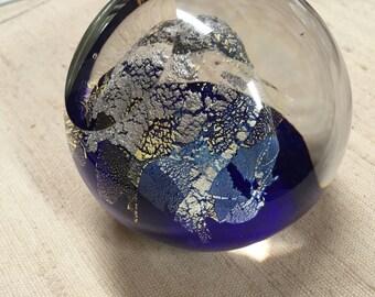 Glass Paperweight - Michael Reid - What A Work Of Art!