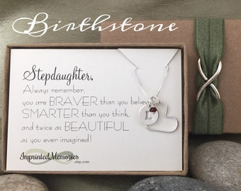 Stepdaughter Gift Sweet 16 Gift for Stepdaughter 18th Birthday 10th Birthday - New Stepdaughter Wedding Step Daughter Gift From Step Dad Mom
