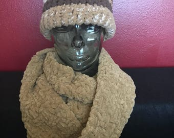 Soft winter scarf