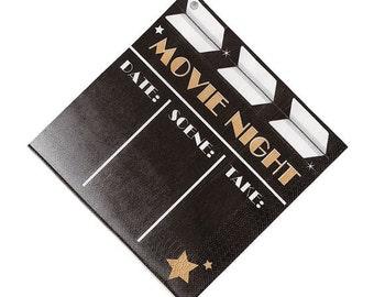Movie  party Lunch napkins / Movie night theme