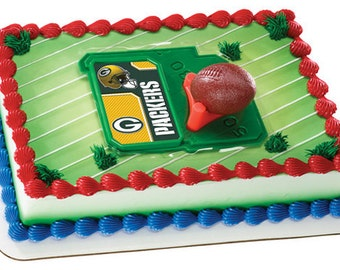 Green Bay Packers NFL Football Cake Kit Cake Decorating Toppers